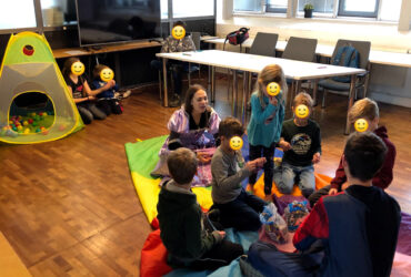 Kids Day – Children having an unforgettable day at the STRG. offices